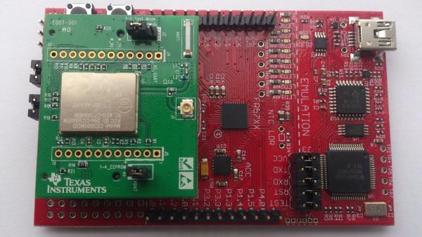 Connect MSP430FRAM Board with the Texas Instruments CC3000 to Exosite's Cloud